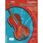 Orchestra Expressions, Book/CD 2, for violin; Brungard et al. (Alfred)