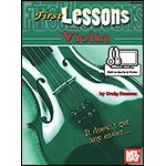 First Lessons for Violin, with online audio access; Craig Duncan (Mel Bay)