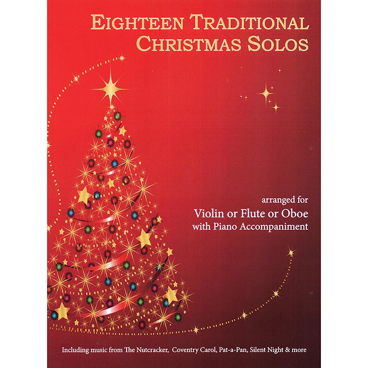 Eighteen Traditional Christmas Solos, for violin with piano (Last Resort)