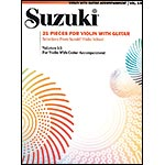 21 Pieces for Violin with Guitar; Suzuki