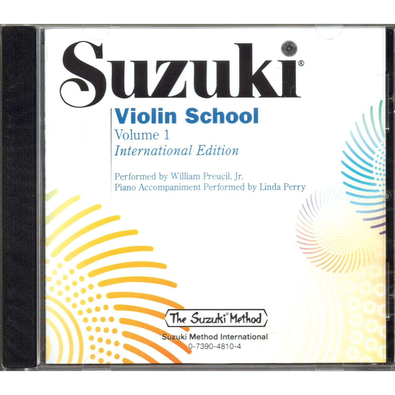 Suzuki Violin School, Volume 1 CD (Preucil) (International Edition)