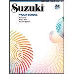 Suzuki Violin School, Volume 7, Book and CD (Revised/International)