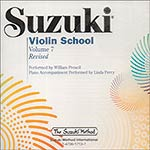 Suzuki Violin School, Volume 7, CD (performed by William Preucil) (Revised/International)