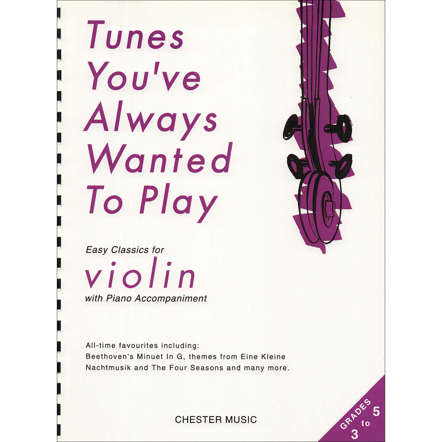 Tunes You've Always Wanted To Play, Violin And Piano