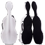 Musilia S2 Carbon Fiber Cello Case, Solid White