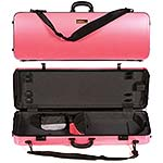 Galaxy Zenith 400SL Oblong Adjustable Pink Viola Case with Gray interior