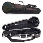 Bam Supreme Cosmic Hightech Polycarbonate Contoured SUP2002XLCOS 4/4 Violin Case with Silver Fittings