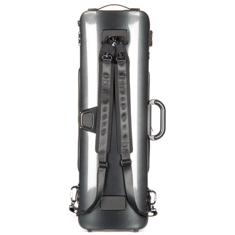 bam hightech oblong 4 4 violin case with pocket 2011xlc black carbon johnson string instrument. Black Bedroom Furniture Sets. Home Design Ideas