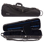 Carlisle 2040 Shaped 4/4 Violin Case, Blue Interior