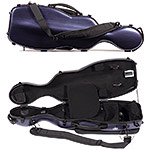 Carlisle Dynasty 4201V Shaped 4/4 Violin Case, Midnight Blue