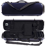 Carlisle Victory 4751V Oblong 4/4 Violin Case, Midnight Blue