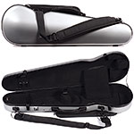 Carlisle Prestige 5251V Shaped 4/4 Violin Case, Pewter