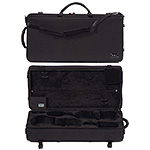 Bam Classic 2006SN Combination Violin/Viola Case, Black