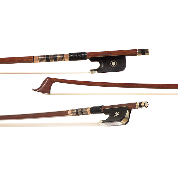 "Emil Werner gold-mounted CE bow branded ""Emile Dupree"", circa 1970"