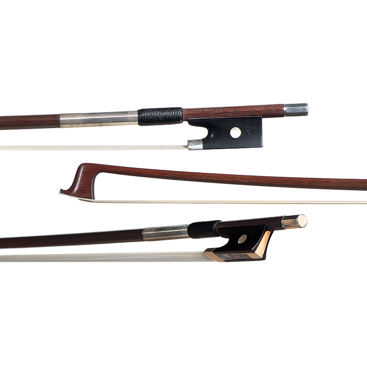 "German violin bow branded ""E. R. Hoyer"""