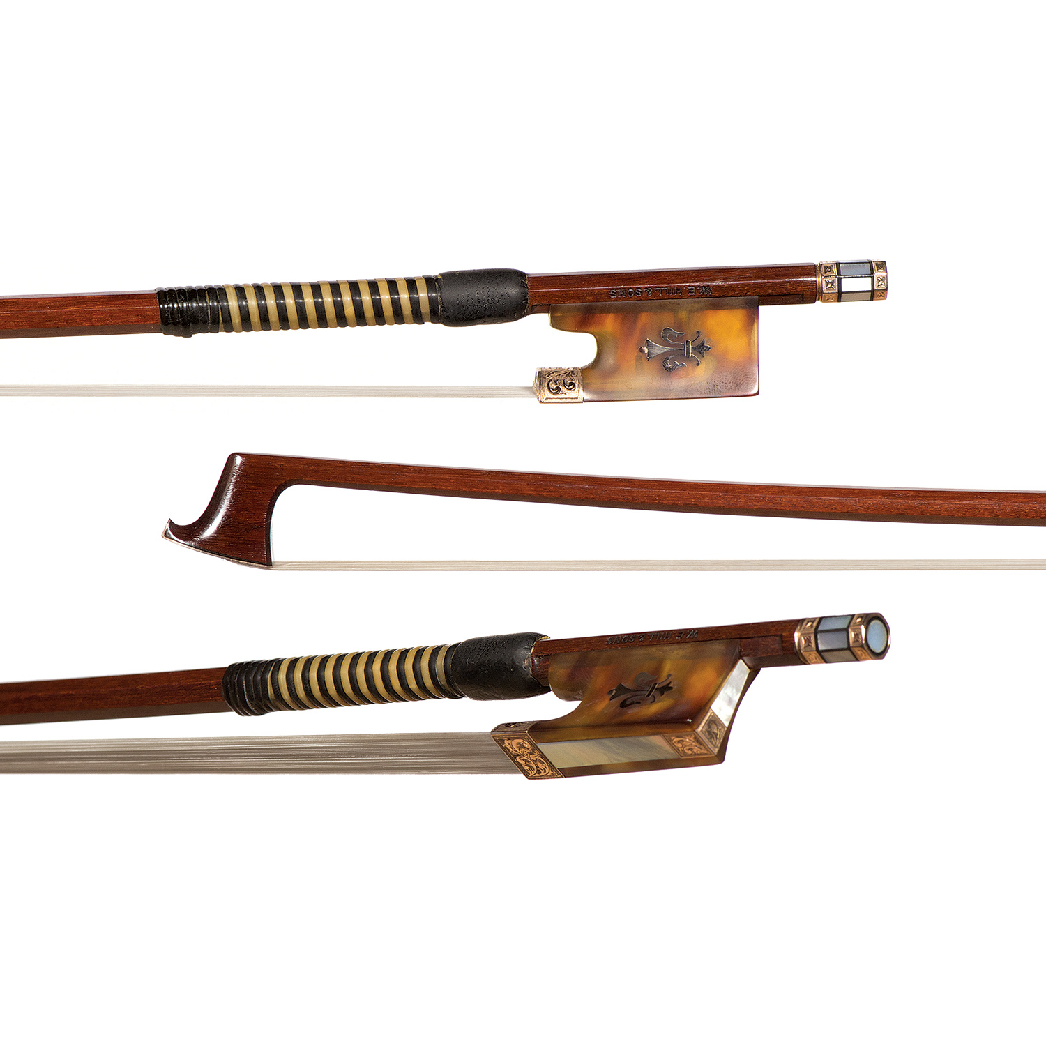 w e hill and sons violin bow johnson string instrument. Black Bedroom Furniture Sets. Home Design Ideas