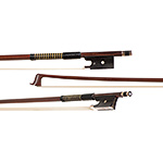 German gold-mounted violin bow, mid 20th century