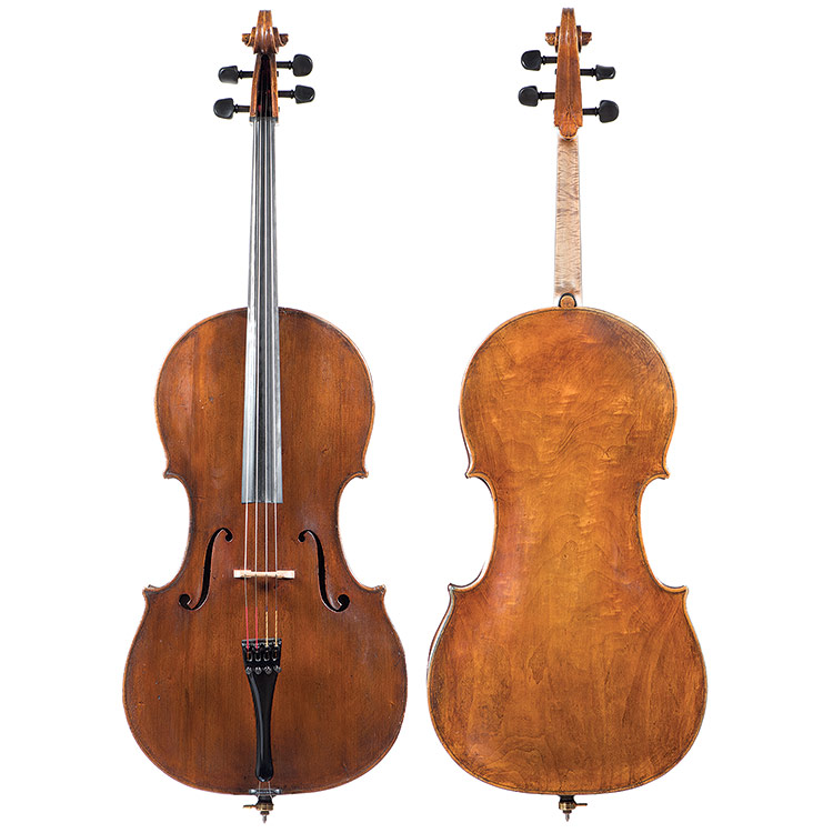 Gaetano Sgarabotto cello, early 20th century