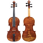 Grubaugh and Seifert violin, Petaluma 2019