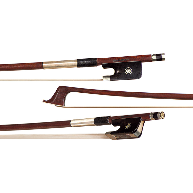 4/4 Marco Raposo nickel-mounted cello bow