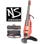 NS Design CR-4 Electric 4-String Violin, Amber