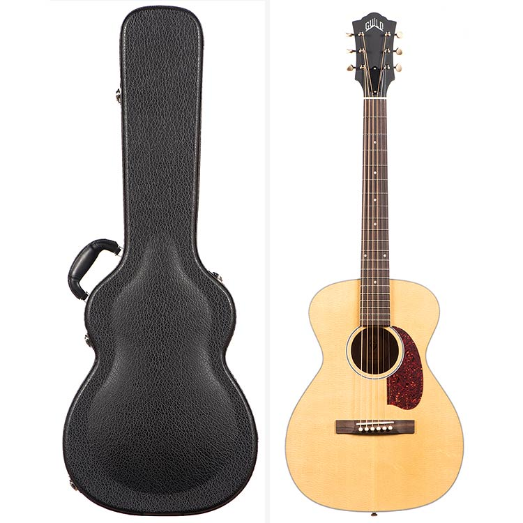 Guild USA M-40 Troubadour Concert Guitar, Natural