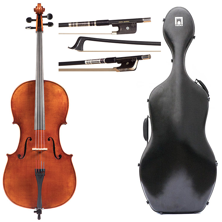 4/4 Alessandro Firenze A450 Cello Outfit