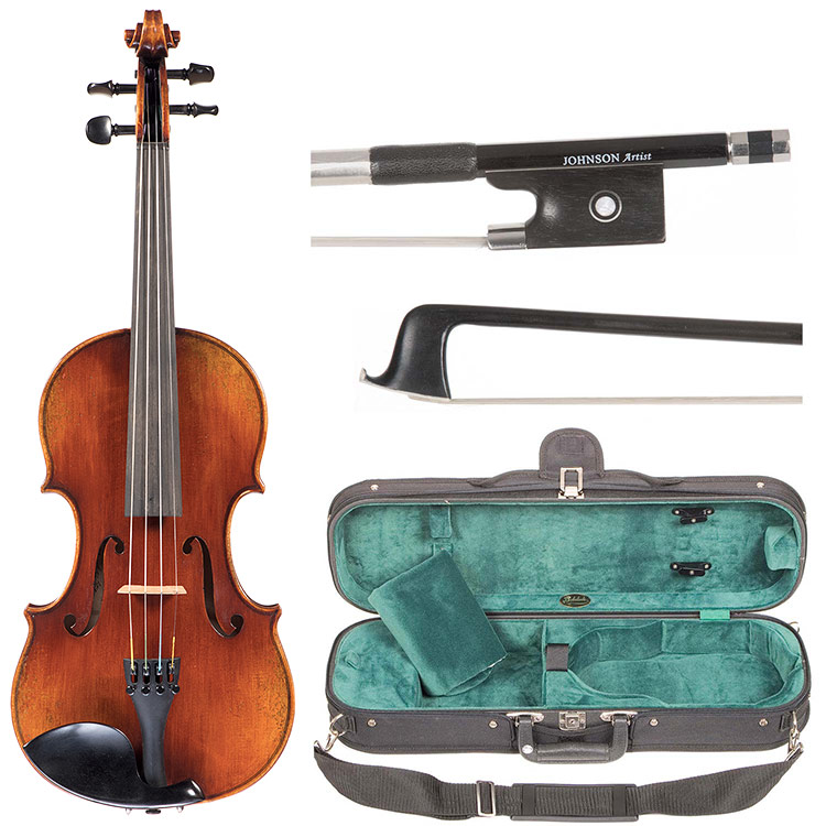 1/8 Rudoulf Doetsch Violin Outfit