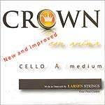 Crown Cello A String - alloy/steel: Medium
