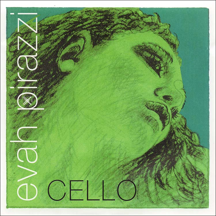Evah Pirazzi Cello G String - tunsten/ropecore: thick/stark