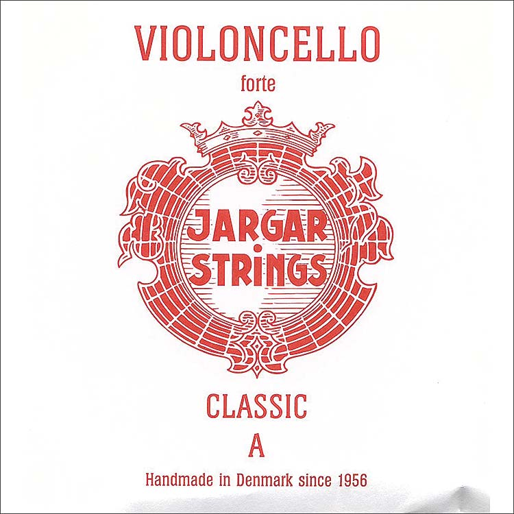 Jargar Cello A String - chr/steel: Thick/Forte
