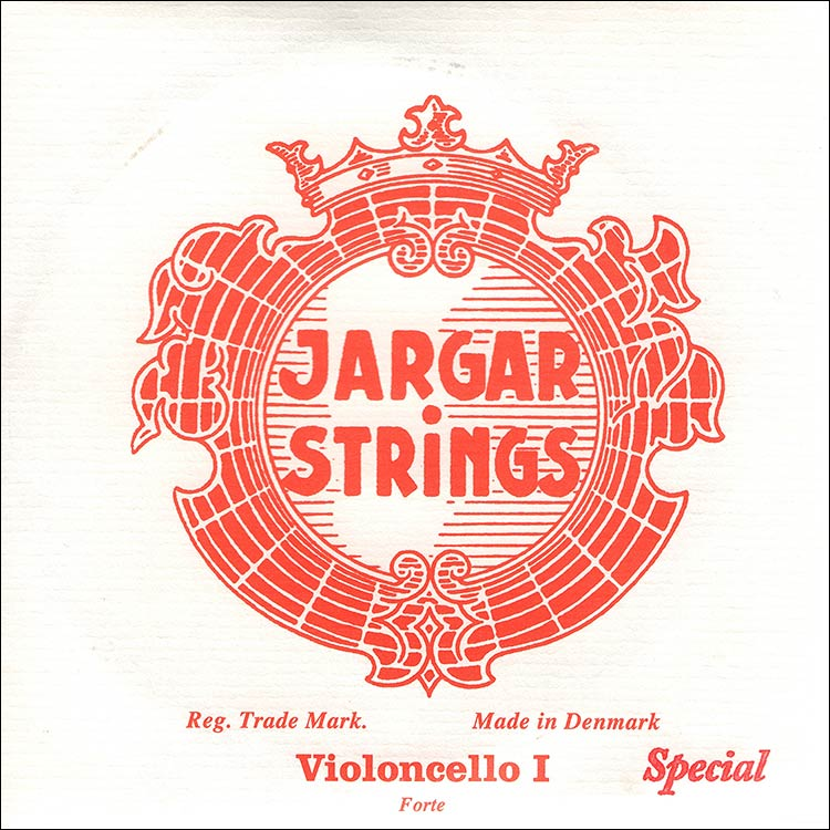 Jargar Special Cello A String - chr/steel: Thick/Forte