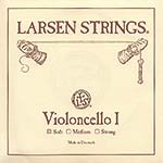 Larsen Cello A String - alloy/steel: Soft