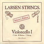 Larsen Soloist Cello A String - alloy/steel: Medium