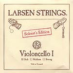 Larsen Soloist Cello A String - alloy/steel: Soft
