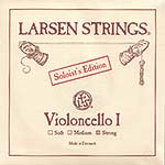Larsen Soloist Cello A String - alloy/steel: Strong