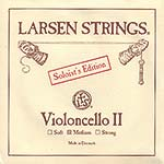Larsen Soloist Cello D String - alloy/steel: Medium