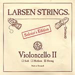Larsen Soloist Cello D String - alloy/steel: Strong