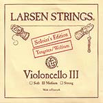 Larsen Soloist Cello G String - tungsten/steel: Medium