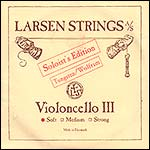 Larsen Soloist Cello G String - tungsten/steel: Soft