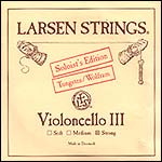 Larsen Soloist Cello G String - tungsten/steel: Strong