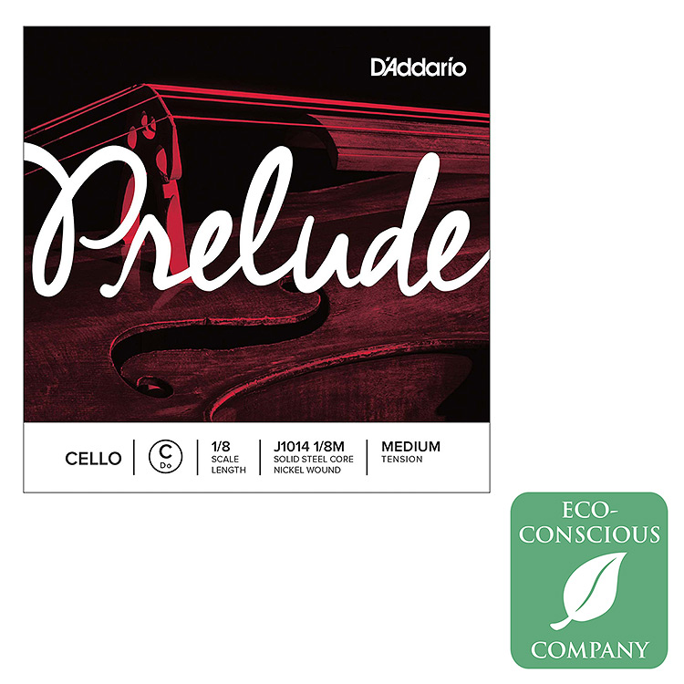 Prelude 1/8 Cello C String - nickel wound