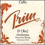 Prim Cello D String - chr/steel: Thick/orchestra