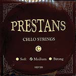 Presto Prestans Cello C Silver String: Medium
