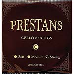 Presto Prestans Cello C Chromesteel String: Strong/Forte