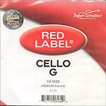 Red Label 1/2 Cello G String - nickel/steel