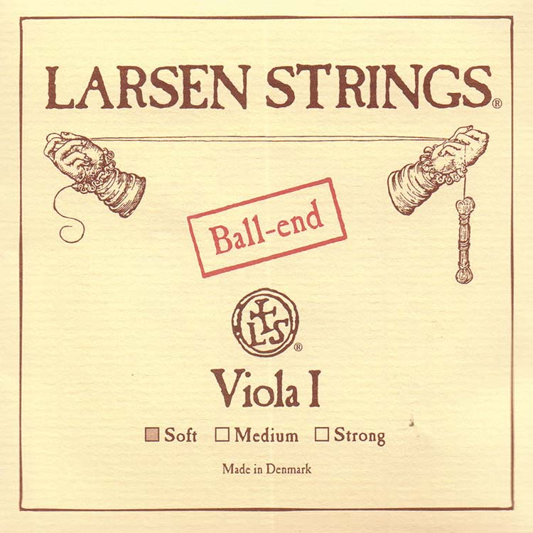Larsen Viola A String - alloy/steel: Soft, ball end