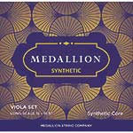 Medallion Synthetic 15''-16.5'' Viola String Set, Medium