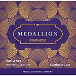 Medallion Synthetic 13''-14'' Viola String Set, Medium