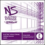 NS Electric Viola High E String - stranded steel core: Medium